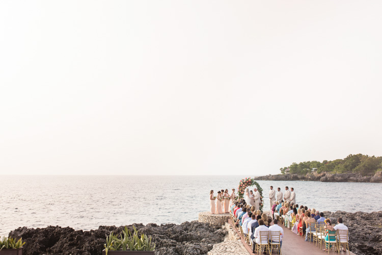 Wedding at Rockhouse Hotel in Negril Jamaica of Shannon Skloss