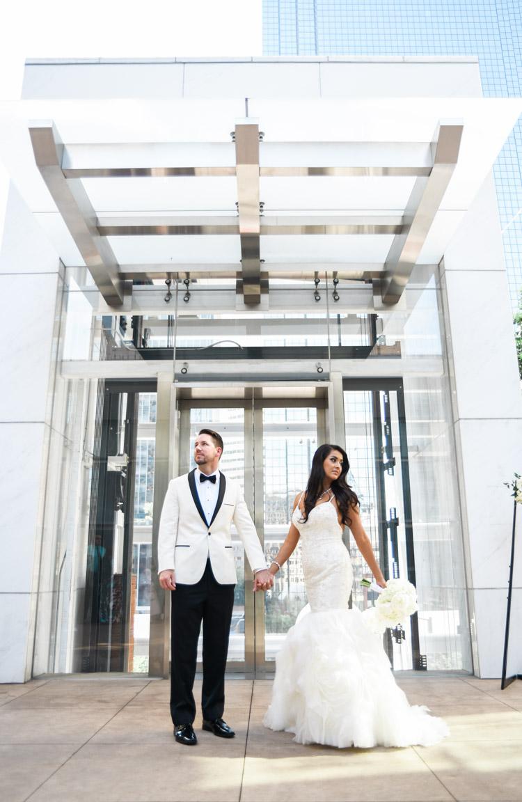 cristina aaron joule hotel wedding photographer