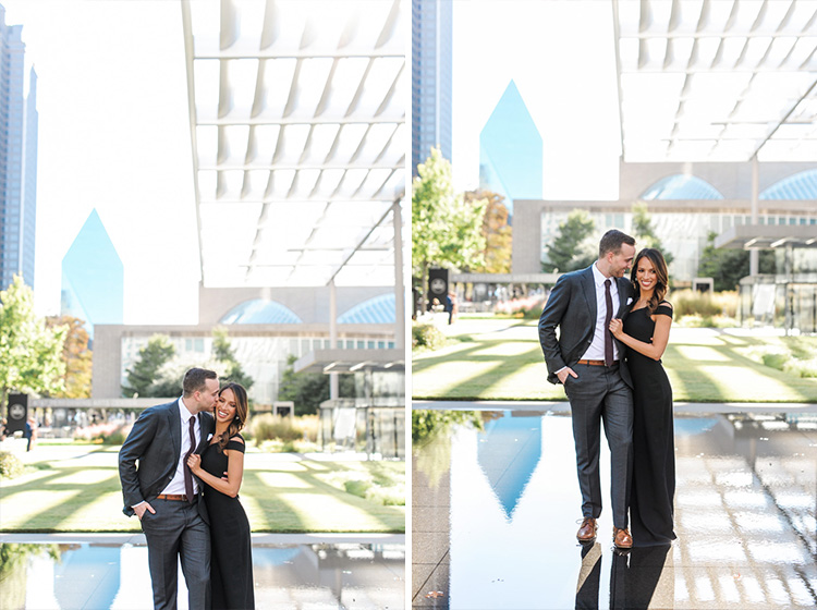 engagement session at Nasher in Dallas Texas by Shannon Skloss