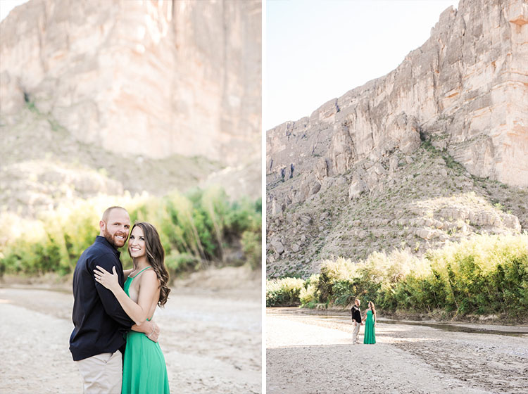 Big Bend engagement session photos by Shannon Skloss