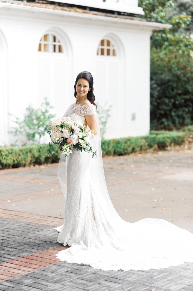 Arlington Hall bridal portrait by Shannon Skloss