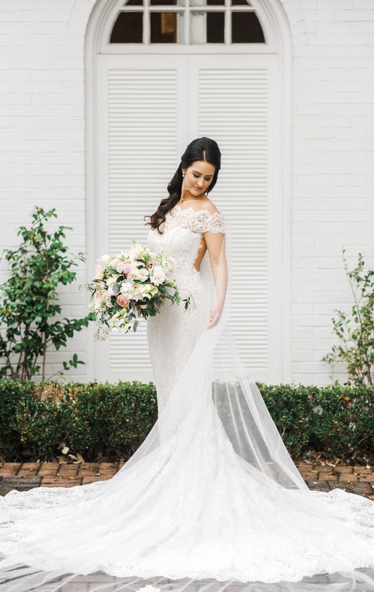 Candice Arlington Hall Bridal Portraits Shannon Skloss