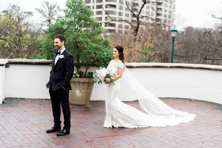 first look at Arlington Hall wedding in Dallas by Shannon Skloss