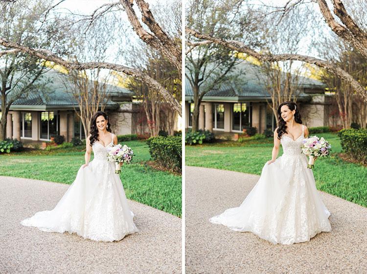 Four Season Dallas bridal portrait by Shannon Skloss