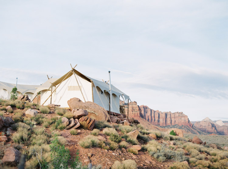 Zion Under Canvas glamping by Shannon Skloss